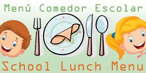 Menú Comedor Escolar   Colegio Público Joaquín Costa